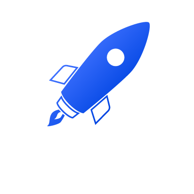 Illustration of a rocket ship